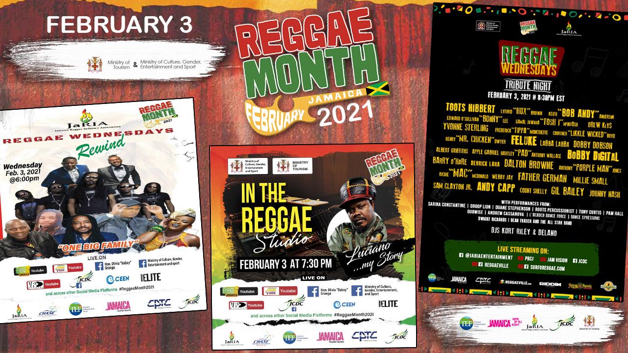 Reggae Month 2021 TV (Live Stream - February 3rd) [2/3/2021]