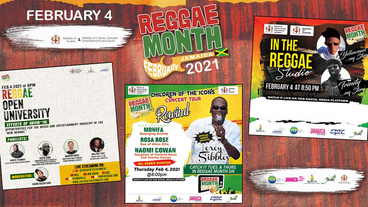Reggae Month 2021 TV (Live Stream - February 4th) [2/4/2021]