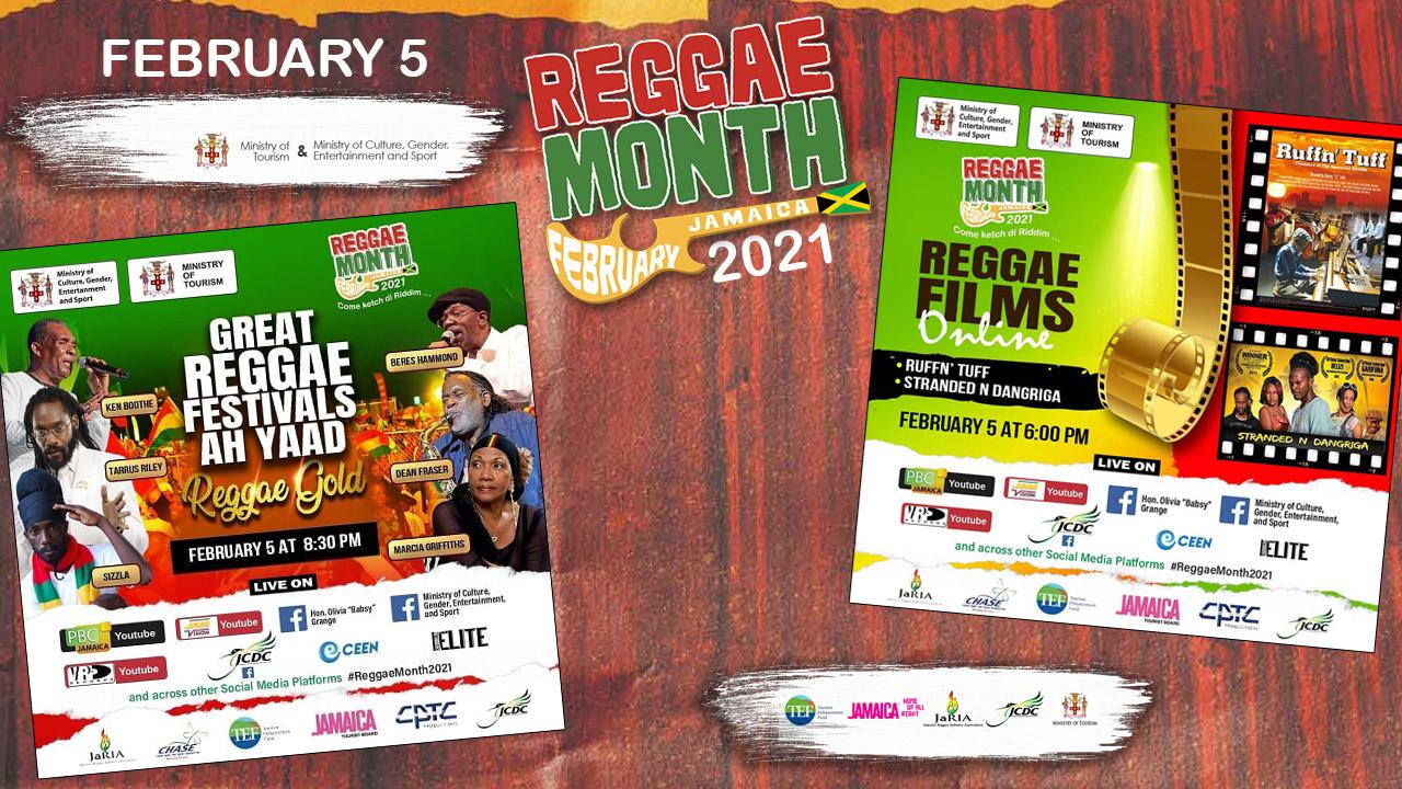 Reggae Month 2021 TV (Live Stream - February 5th) [2/5/2021]