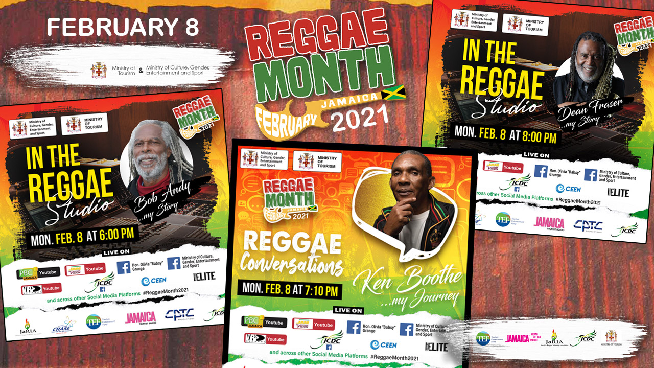 Reggae Month 2021 TV (Live Stream - February 8th) [2/8/2021]