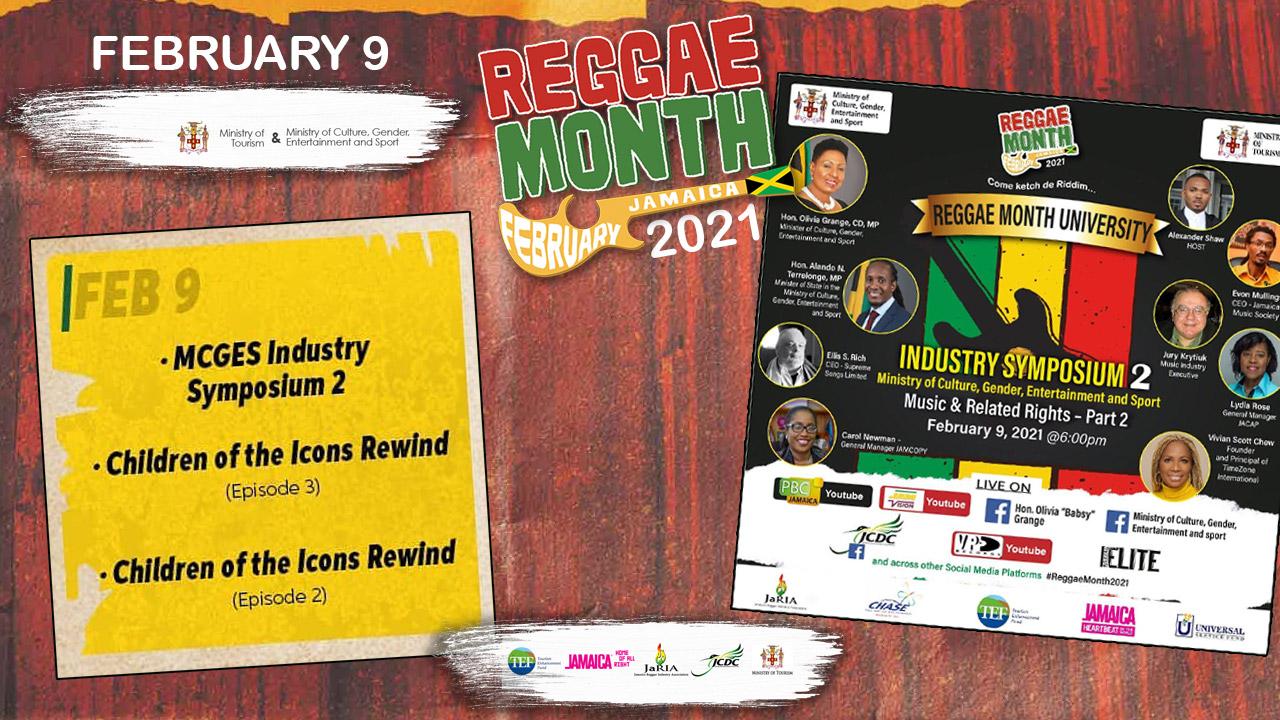 Reggae Month 2021 TV (Live Stream - February 9th) [2/9/2021]