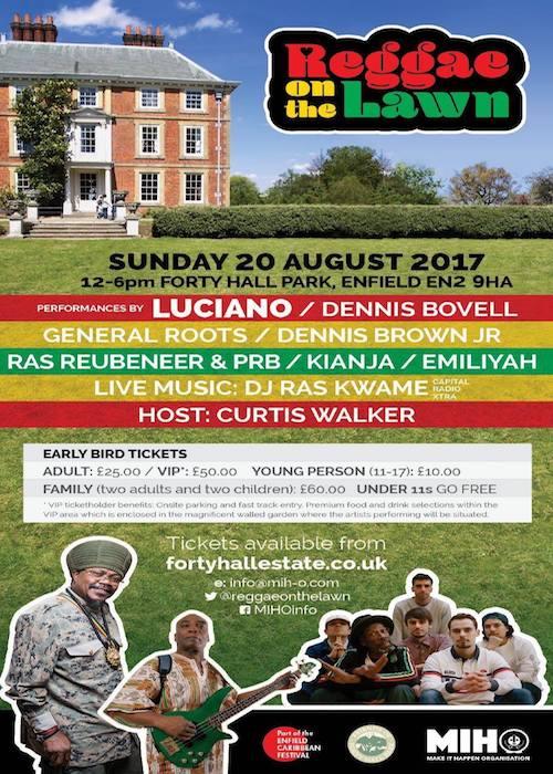 Reggae On The Lawn 2017