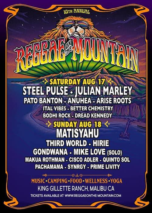 Reggae On The Mountain 2019