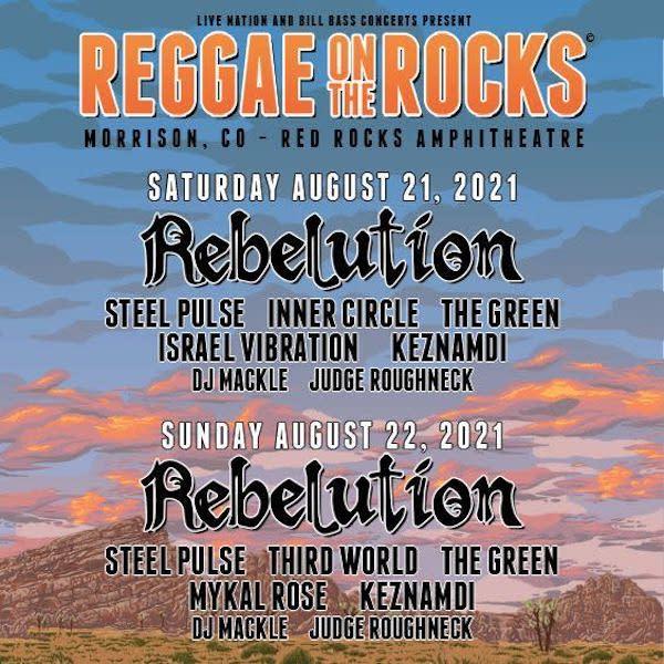 Reggae On The Rocks 2021