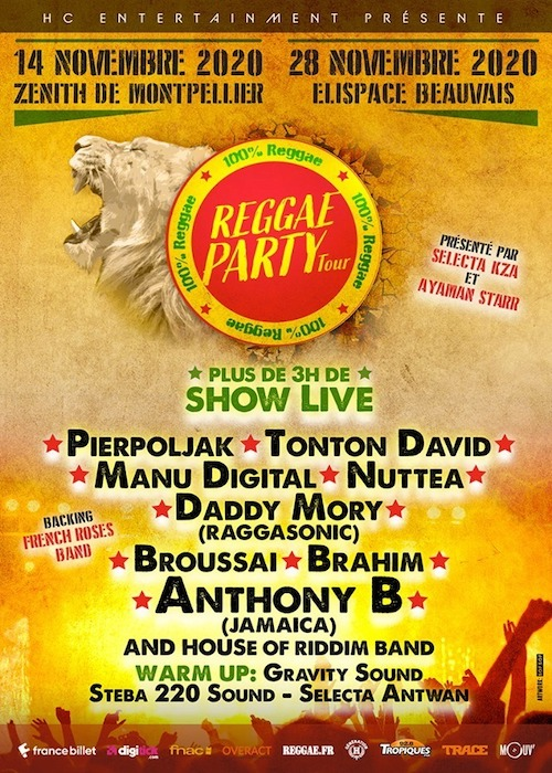CANCELLED: Reggae Party - Beauvais 2020