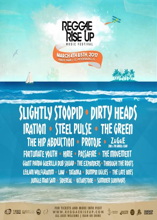 Reggae Rise Up - Florida 2017