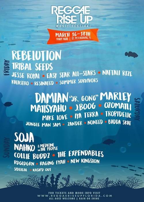 Reggae Rise Up - Florida 2018