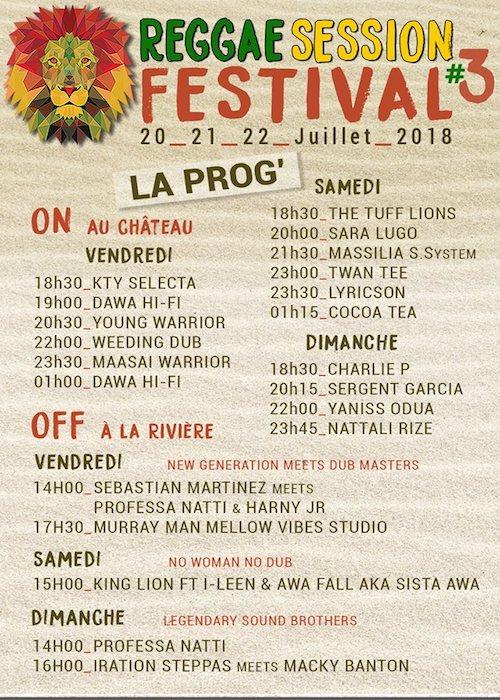 Reggae Session Festival 2018