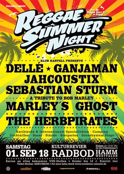 Reggae Summer Night 2018