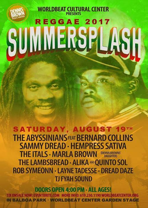 Reggae SummerSplash 2017
