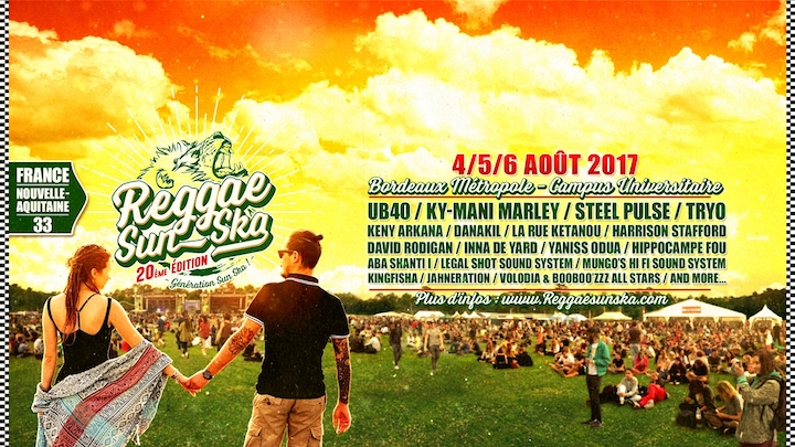 Reggae Sun Ska 2017 - Day 1 [8/3/2017]