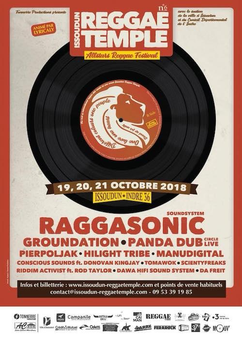 Issoudun Reggae Temple 2018