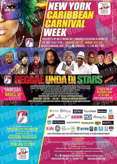 Reggae Under The Stars 2017