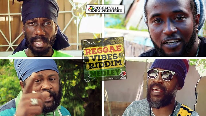 Reggae Vibes Riddim Medley with Sizzla, Lutan Fyah, Delus, Fantan Mojah... [6/26/2016]