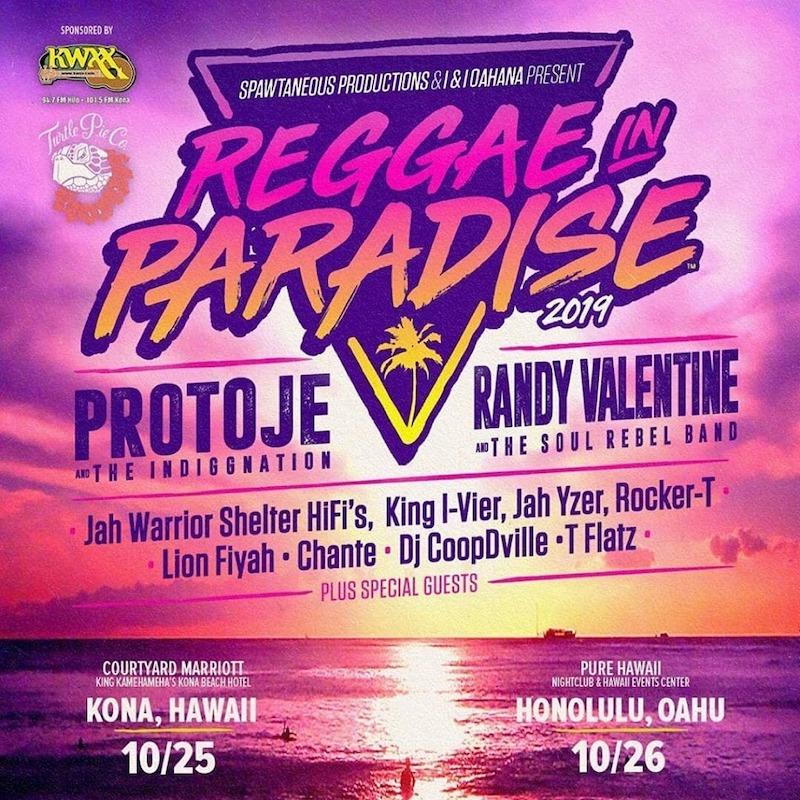 Reggae in Paradise - Honolulu 2020
