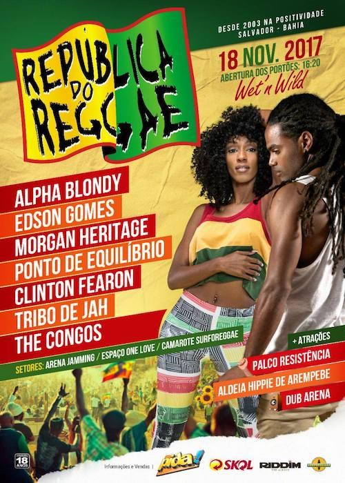 Republica Do Reggae 2017 - reggaeville com