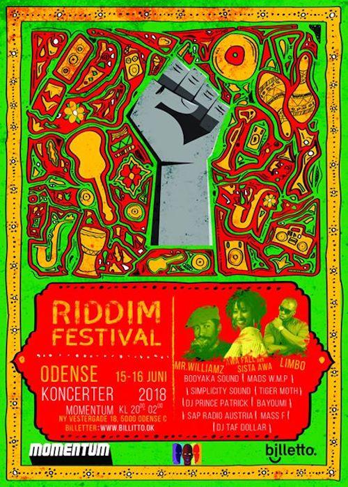 Riddimfestival 2018