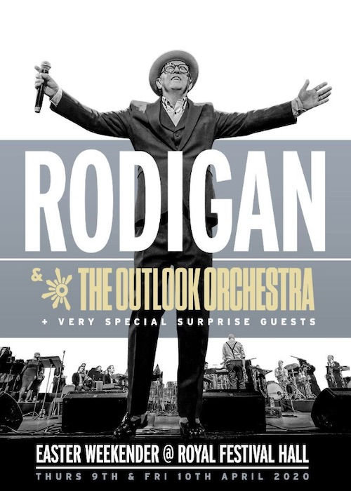 POSTPONED: Rodigan & The Outlook Orchestra 2020
