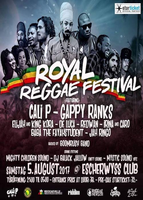 Royal Reggae Festival 2017