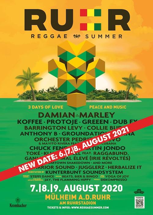 CANCELLED: Ruhr Reggae Summer 2021