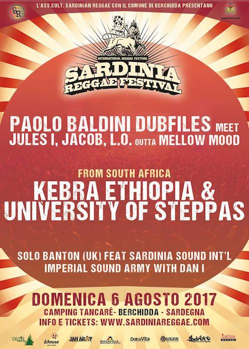 Sardinia Reggae Festival 2017