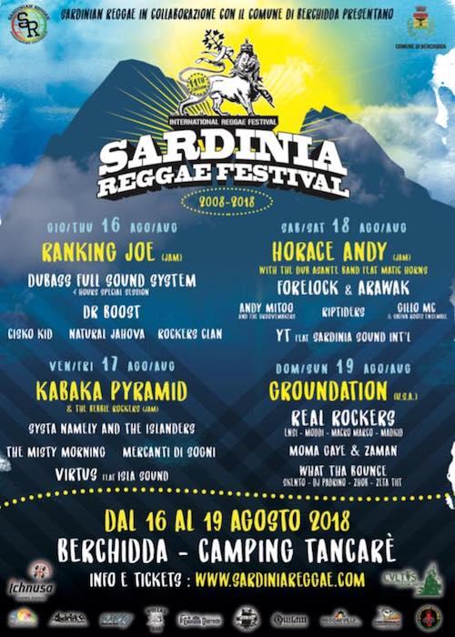 Sardinia Reggae Festival 2018