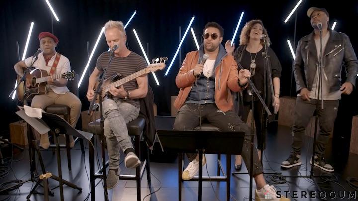 Shaggy & Sting @ Billboard Stereogum Session [5/8/2018]