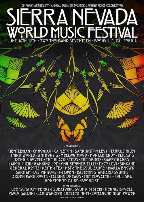 Sierra Nevada World Music Festival 2017