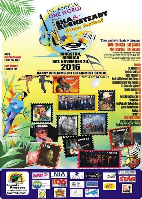 Ska & Rocksteady Music Festival 2016