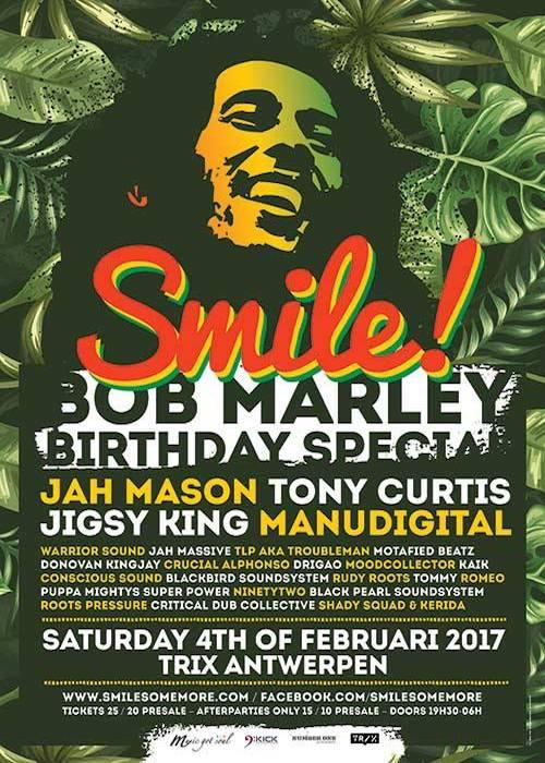 Smile - Bob Marley Birthday Special