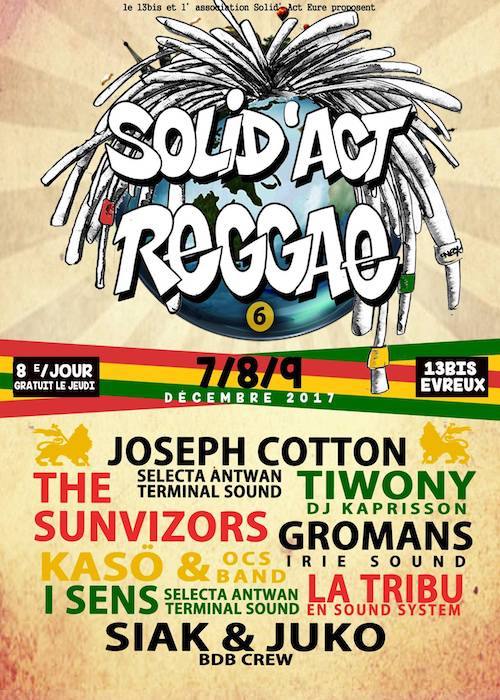 Solid' Act Reggae Festival 2017