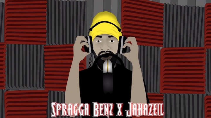 Spragga Benz feat. Jahaziel - At My Door [11/7/2020]
