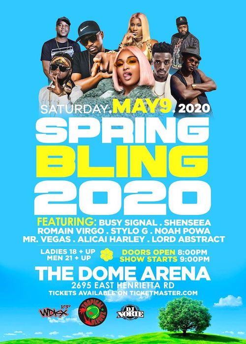 CANCELLED: Spring Bling 2020