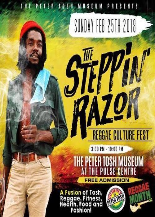 The Steppin' Razor Reggae Culture Fest 2018