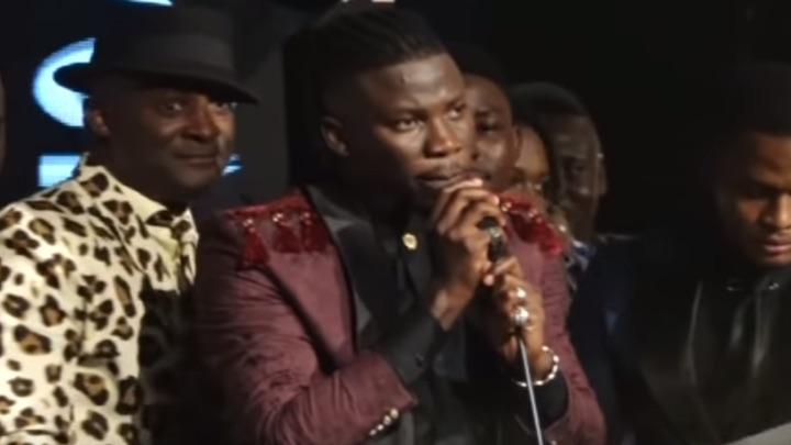 Stonebwoy pulls gun on stage @ VGMA Ghana 2019 [5/18/2019]