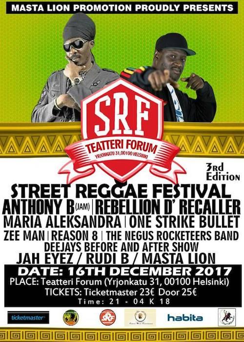 Street Reggae Festival 2017