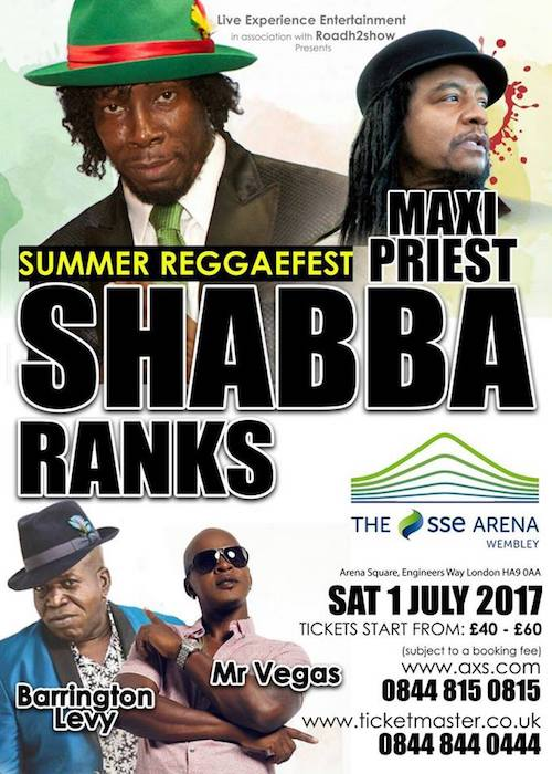 Summer ReggaeFest 2017