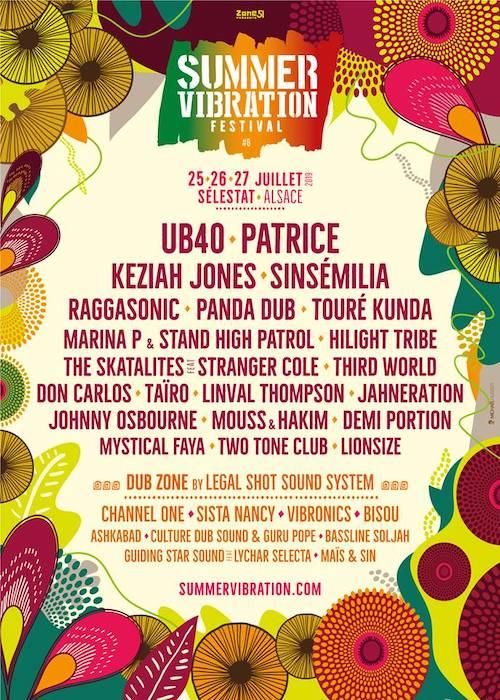 Summer Vibration Reggae Festival 2019