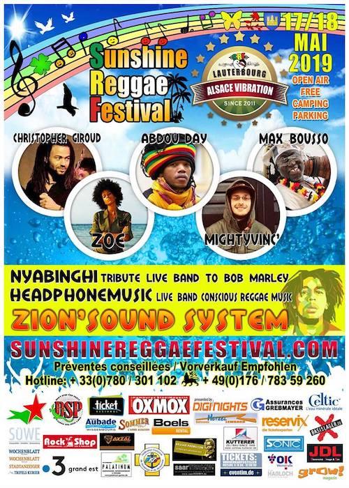 Sunshine Reggae Festival 2019