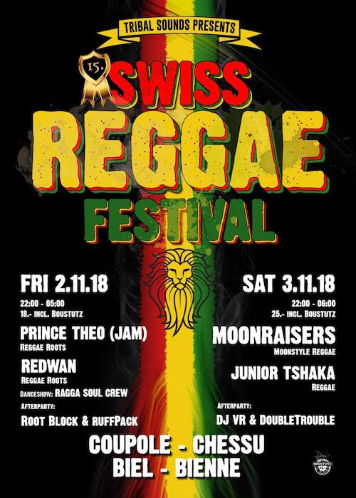 Swiss Reggae Festival 2018