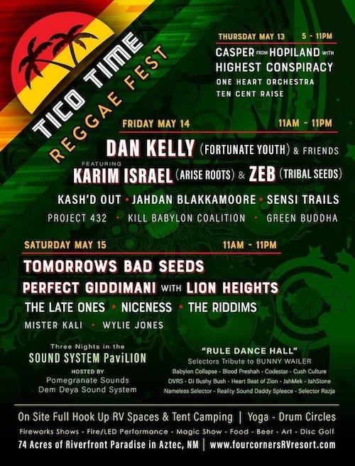 Tico Time Reggae Festival 2021