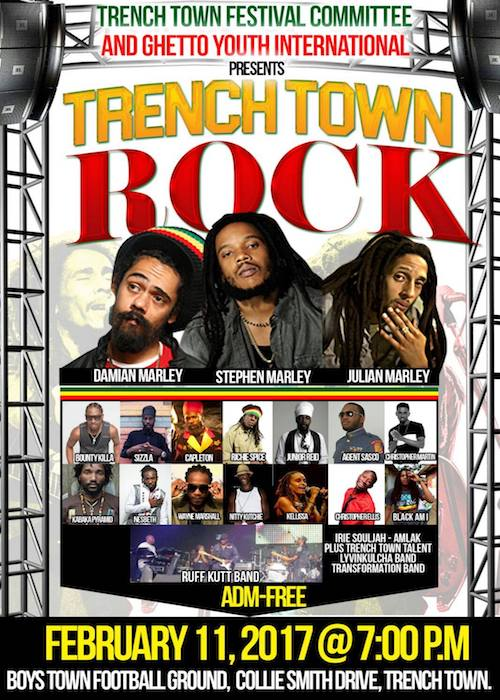 Trench Town Rock 2017