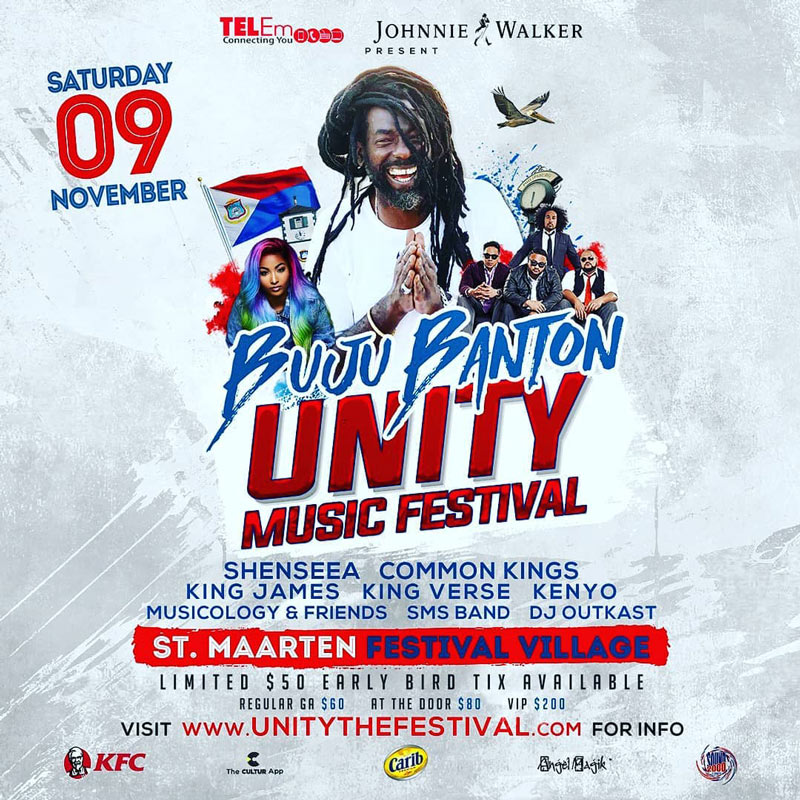 Buju Banton - Unity Music Festival 2019