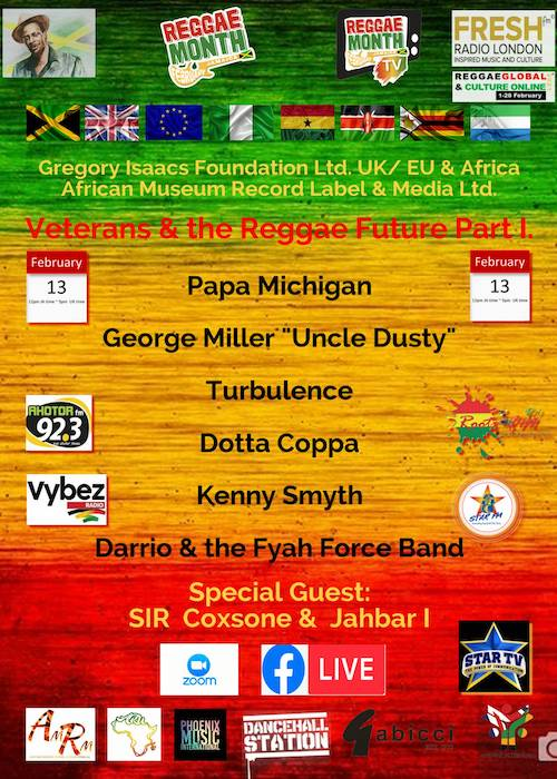 The Veterans & The Reggae Future Part 1 - 2021
