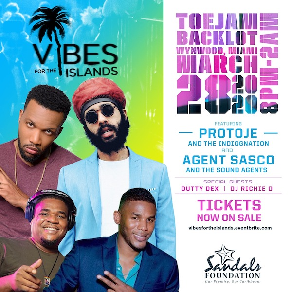 Postponed: Vibes For The Islands 2020