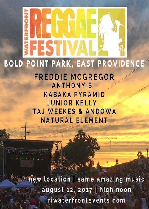 Waterfront Reggae Festival 2017