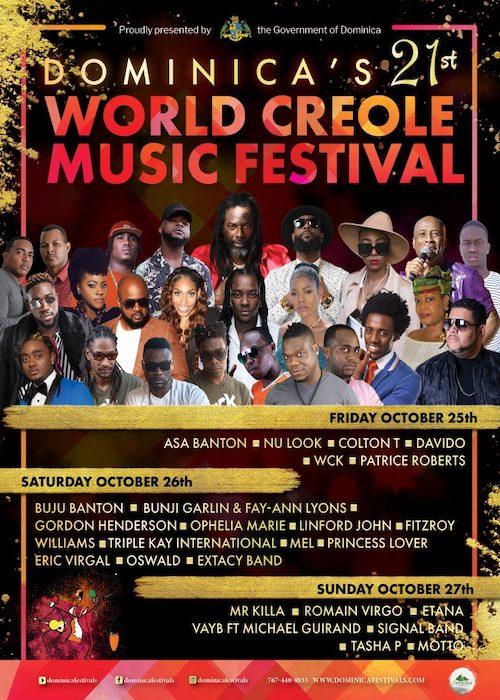 World Creole Music Festival - Dominica 2019