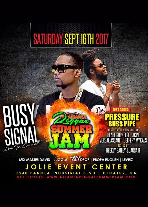 Atlanta Reggae Summer Jam 2017