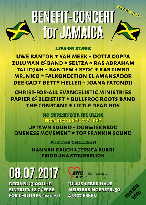 Benefit-Concert For Jamaica 2017