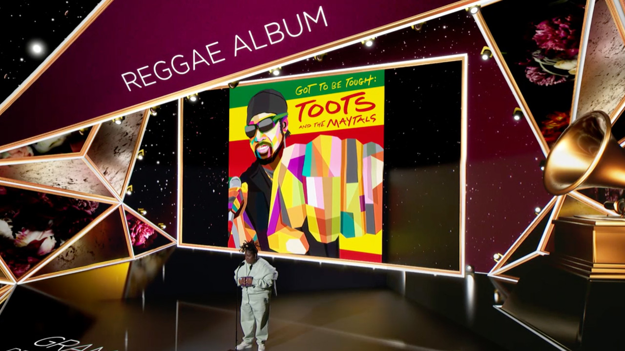 Toots & The Maytals win Grammy for Best Reggae Album (Premiere Ceremony Show) [3/14/2021]